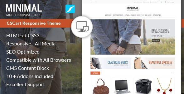 Minimal - Multi Purpose CS-Cart Theme nulled theme download