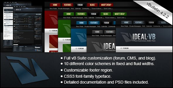Ideal - A vBulletin 4 Suite Theme nulled theme download