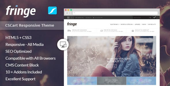 Fringe - Responsive CS-Cart Theme nulled theme download