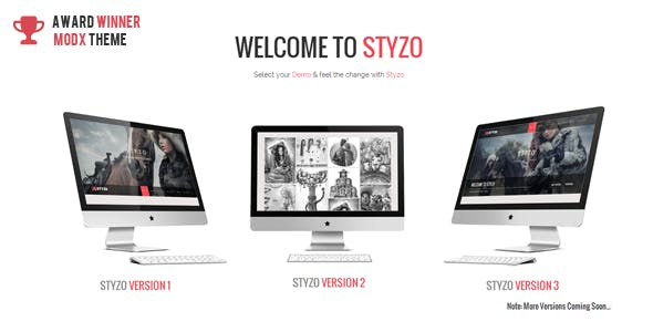 STYZO - Responsive One Page MODX Theme nulled theme download