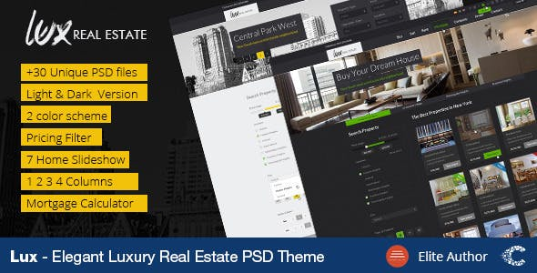 Mortgage Calculator Website Templates From ThemeForest - Mortgage website templates