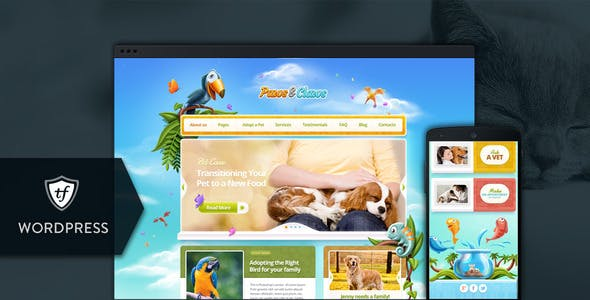 Paws & Claws - Pet WordPress Theme