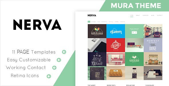 Nerva - Responsive Mura Theme nulled theme download