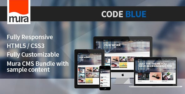Code Blue - Premium Mura CMS Theme nulled theme download
