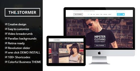 Fashion Stormer eCommerce - Fashion Apparel eCommerce Theme