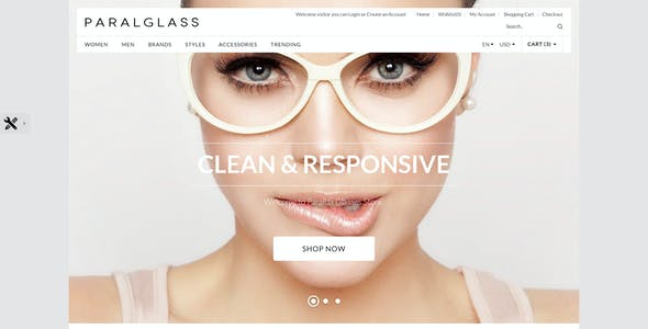 99e645a6a1e2 Glasses Fashion OpenCart Themes from ThemeForest