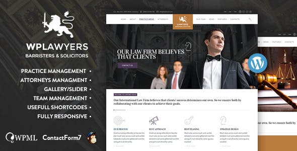 Law Practice  | Lawyers Attorneys Business Theme