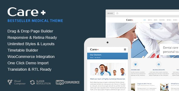 medical blog website templates from themeforest