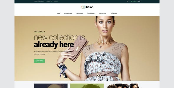 Basic Website Templates From ThemeForest - Basic website templates