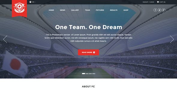 Formation HTML Website Templates From ThemeForest