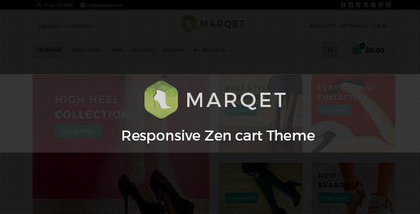 MarQet - Responsive Zen cart Theme nulled theme download
