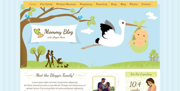 Family Tree Wordpress Website Templates From Themeforest