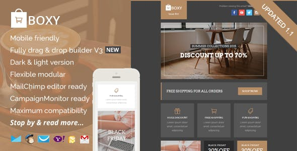 Ecommerce Newsletter Templates From Themeforest