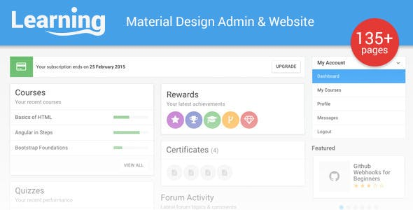 Top 10 Material ui Nulled Themes 2019 Free Download