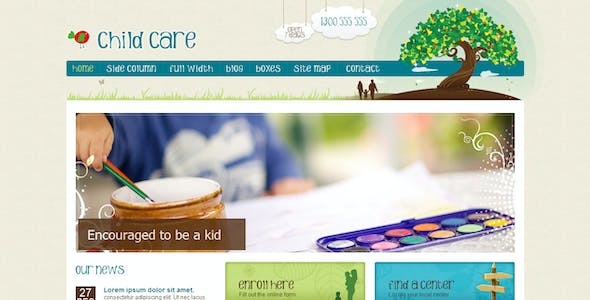 Family Tree Website Templates From Themeforest