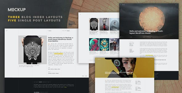 mockup website templates from themeforest