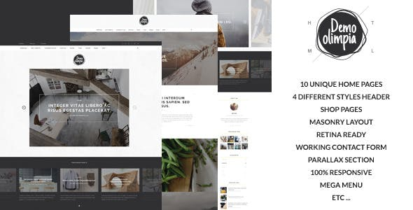 Flickr HTML Website Templates from ThemeForest
