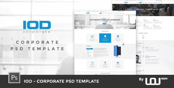 Presentation powerpoint website templates from themeforest date added toneelgroepblik Choice Image