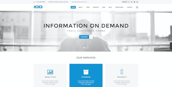 Presentation Ppt Website Template From Themeforest