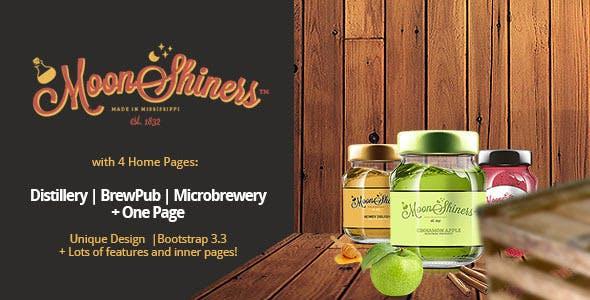 Moonshiners - Distillery, Microbrewery & Brewpub
