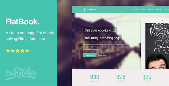 Ebook Selling Templates from ThemeForest