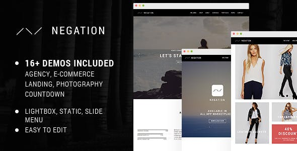 mobile app presentation website templates from themeforest