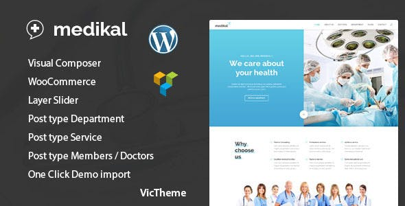CMS Website Templates compatible with Visual Composer