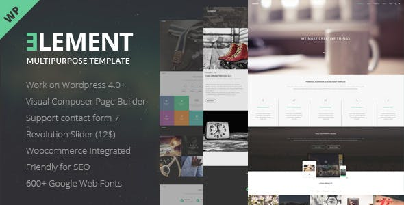 Accordion Visual Composer Website Templates from ThemeForest