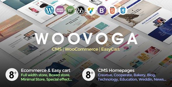 Voga - Multi-Purpose WooCommerce EasyCart WP Theme