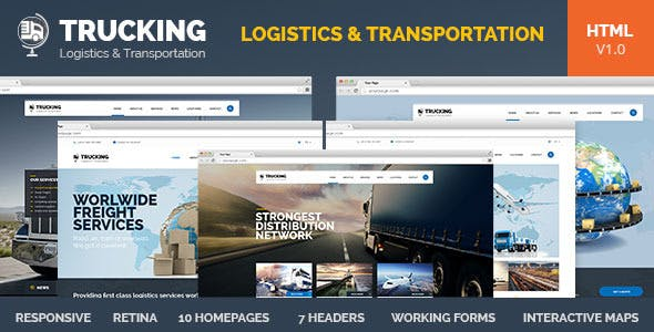 Top 10 Freight Nulled Themes 2019 Free Download