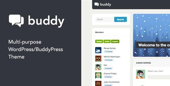 Buddy: Multi-Purpose WordPress/BuddyPress Theme nulled theme download