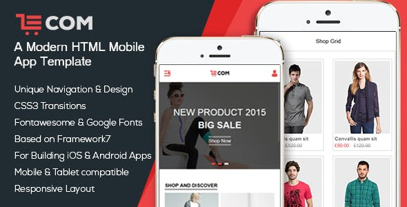 business app templates from themeforest