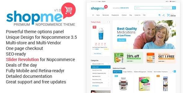 ShopMe - NopCommerce Theme nulled theme download