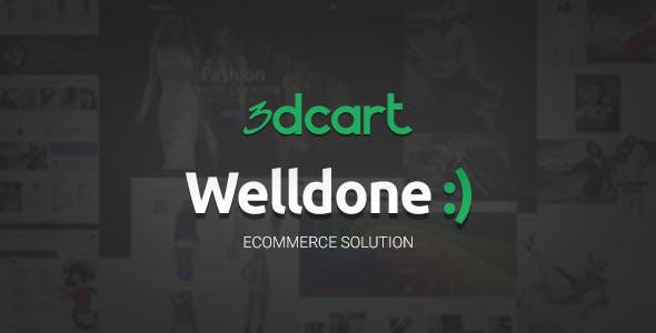 Welldone - 3Dcart theme nulled theme download