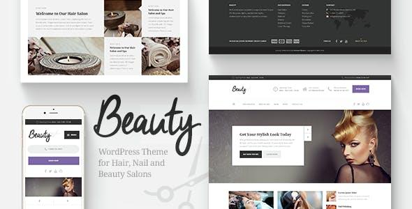 Beauty Hair Salon Nail Spa Fashion Wp Theme By Proteusthemes Themeforest