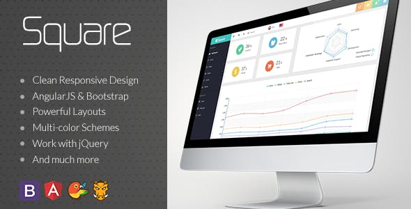 Top 10 Dashboard template Nulled Themes 2019 Free Download