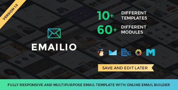 Top 10 Email builder Nulled Themes 2019 Free Download
