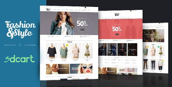 Ap Fashion 3dcart Theme nulled theme download