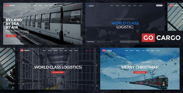 GoCargo - Freight, Logistics & Transportation WordPress Theme