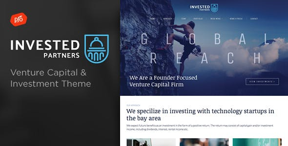 34+ best investment company website templates.