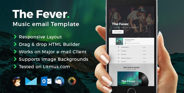 pop band templates from themeforest