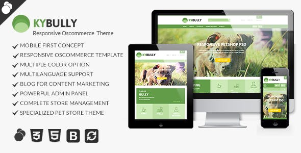 Kybully - Mobile First osCommerce Theme nulled theme download