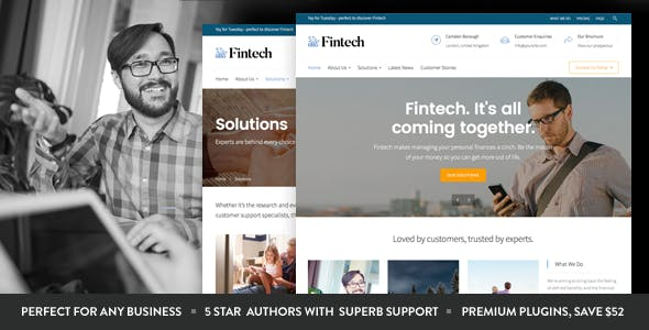 20+ Tech Startup WordPress Themes & Templates 2019 [ Download Now ]