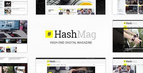 High End Website Templates from ThemeForest