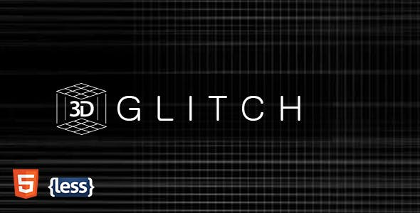 glitch templates from themeforest
