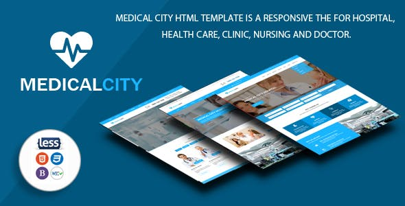 medic template templates from themeforest