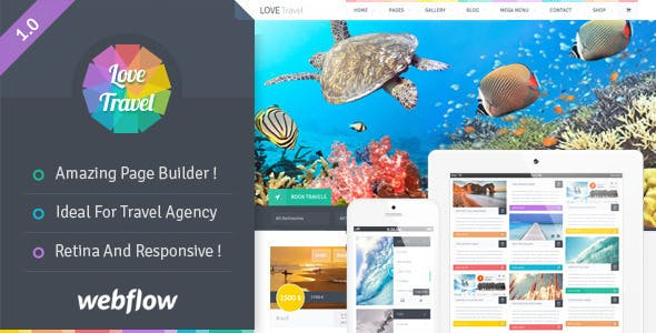 Love Travel - Travel Agency For Travel And Tour Webflow nulled theme download