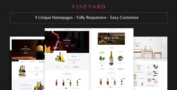 Vineyard - Wine Store Responsive WooCommerce WordPress Theme