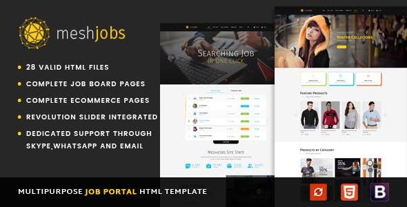 job Free Download | Envato Nulled Script | Themeforest and