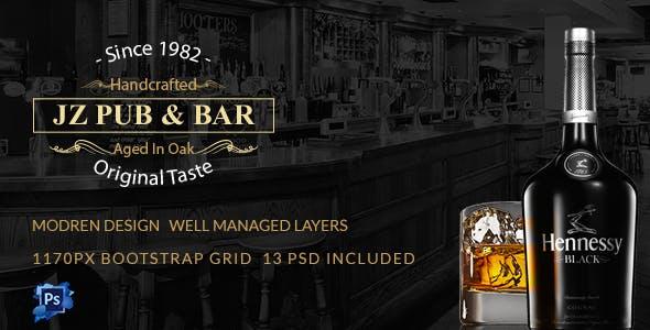 bar restaurant templates from themeforest